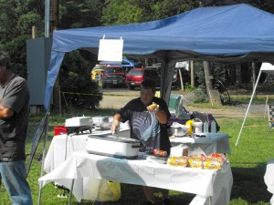 get your hot dog at shady brook campground