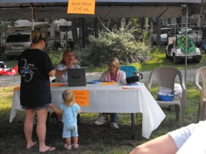 ticket sales at shady brook campground