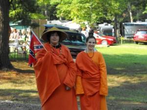 reenactments at shady brook campground