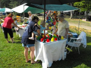 garage sale at shady brook campground