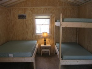 photo of beds in cabin