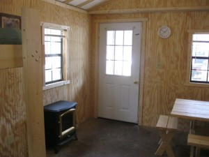 exterior cabin door photo