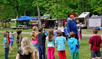 lolly pop toss at shady brook campground