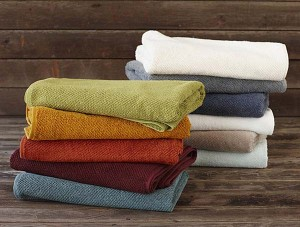 photo of towels